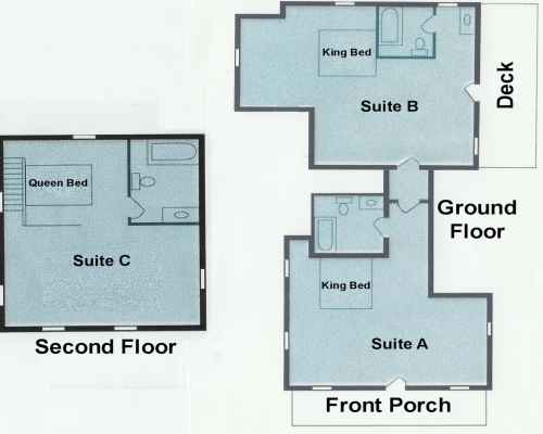 Floor Plan for the Toledo House